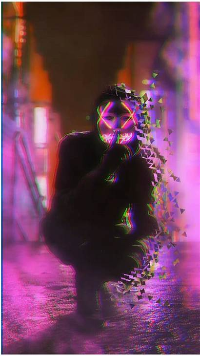 Neon Mask Wallpapers Aesthetic Masks Backgrounds Wallpaperaccess