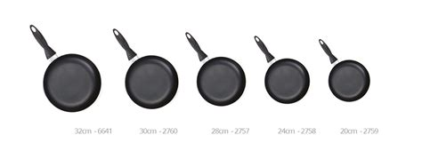 sq professional cookware una range  stick frying pan