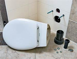 Wand Wc Montage : wand wc montieren anleitung wc austauschen toilette einbauen so geht 39 s h nge wc montieren ~ Watch28wear.com Haus und Dekorationen
