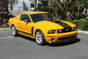 2007 FORD MUSTANG SALEEN PARNELLI JONES LIMITED EDITION