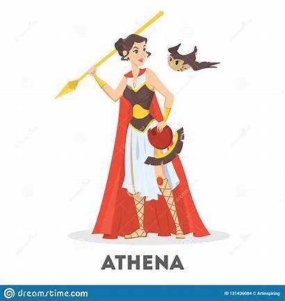 Athena Atena Dea Greca Deusa Mythologie Goddess