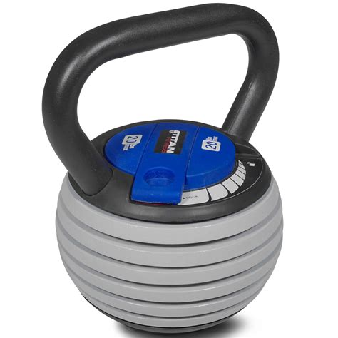 kettlebell titan adjustable weight lb swing lifting fitness workout weights walmart swings training crossfit strength results