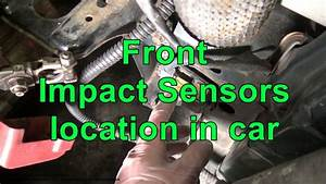 Front Airbag Impact Sensors Location In Car