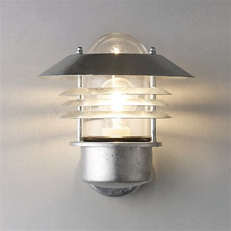 buy nordlux vejers outdoor wall light galvanised steel