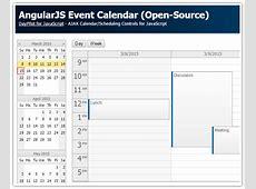 Tutorial AngularJS Event Calendar PHP, ASPNET MVC 5