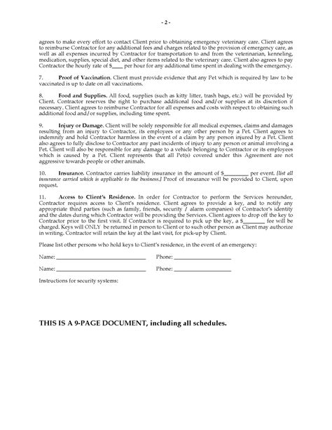 Pet Sitting Agreement Package  Legal Forms And Business. Template For Business Letter. Employee Referral Program Flyer. Blood Sweat And Tears Winston Churchill. Cleaning Service Contract Template. It Cover Letter Template. Good Security Technician Cover Letter. 5 Tab Divider Template. Doodle For Google Template