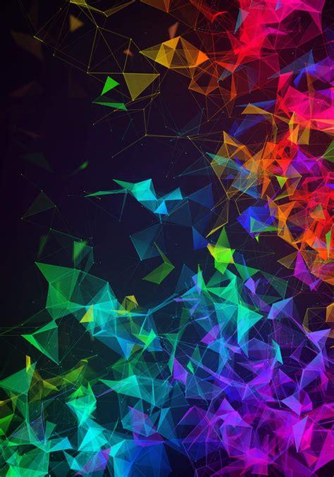 razer phone  wallpapers digital abstract designs