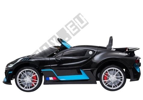 The car is named after french racing driver albert divo, who raced for bugatti in the 1920s winning the targa florio race twice. Electric Ride-On Car Bugatti Divo Black Painted | | Tytuł ...