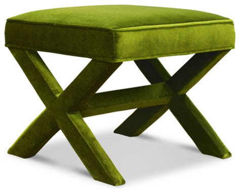 modern ottomans and benches jonathan adler x bench ireland avocado modern