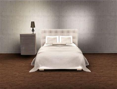 paris quadro bed set  esatto design sims  cc
