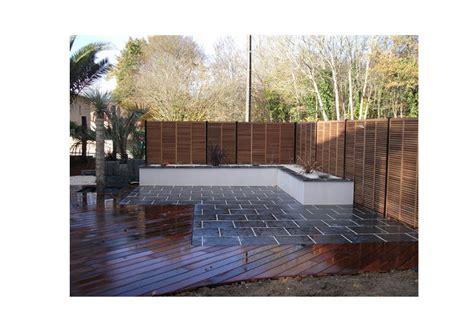 amenagement terrasse jardin loire materiaux