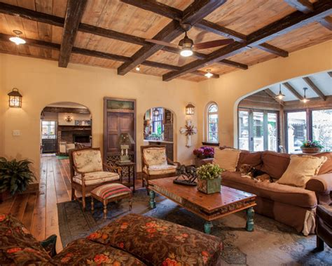 Architecture Rustic Beams And White Paint Combo At