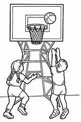 Basketball Coloring Sports Basket Ball Ausmalbilder Zum Ausdrucken Printable Coloriage Preschool Playing Gym Children Colorear Ausmalen Coloriages Dessin Sheets Clipart sketch template