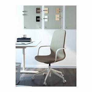 Ikea Weiße Stühle : l ngfj ll drehstuhl gunnared hellgr n wei ikea arbeitsplatz drehstuhl st hle und b ros ~ Watch28wear.com Haus und Dekorationen