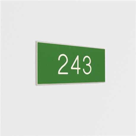 numero de chambre de commerce plaque gravée avec numéros de porte pour intérieur gamme