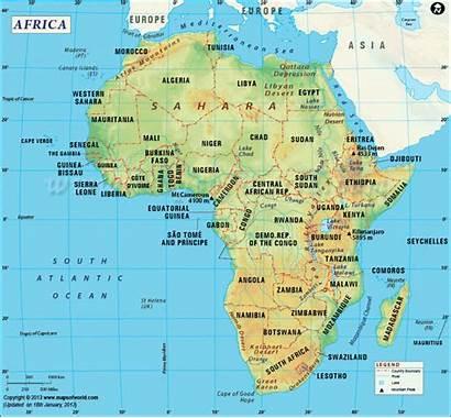 Africa Map Development Corruption Combating Funds Buhari