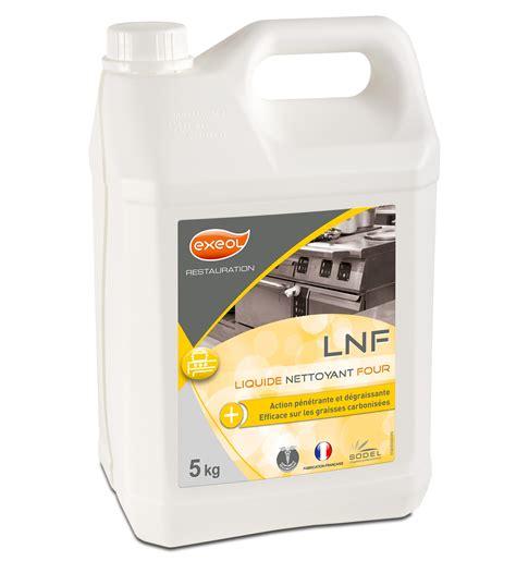 produit cuisine professionnel nettoyant four liquide professionnel lnf 5 l