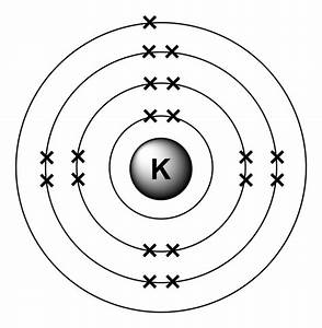 Lewis Dot Diagram For Potassium