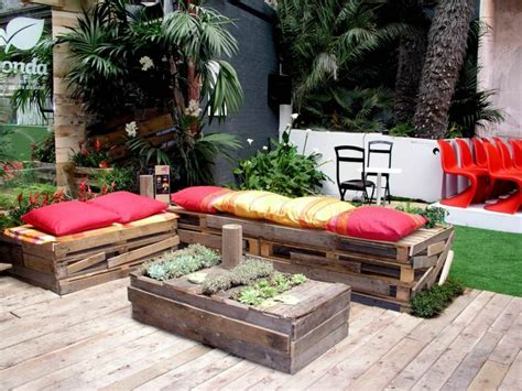 jardiniere en palette de bois  modeles  faire soi meme