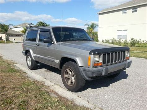 Purchase Used 2001 Jeep Cherokee Sport Sport Utility 2