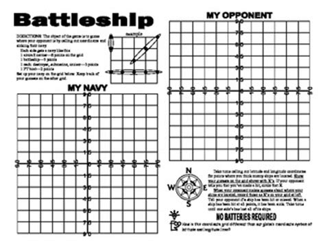 A Latitude And Longitude Battleship Game By Linda Mccormick Tpt