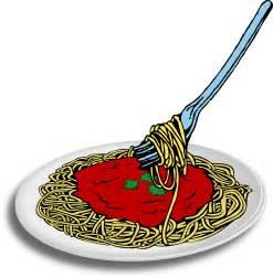 Spaghetti Dinner Clip Art