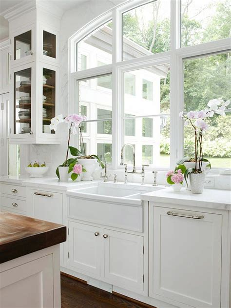 White Kitchen Sink Cabinet by The Granite Gurus Whiteout Wednesday 5 White Kitchens