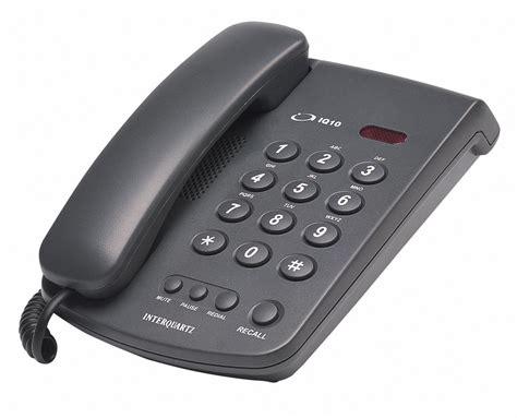 Interquartz IQ10 basic telephone | Telephones