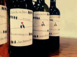 wedding wine bottle labels personalised wedding wine labels by bottle bazaar the wedding