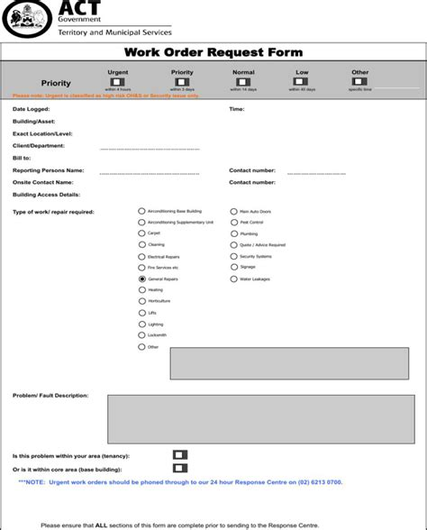 order template for free formtemplate