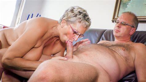 Uninhibited German Granny Eats Cum In Naughty Mature Sex