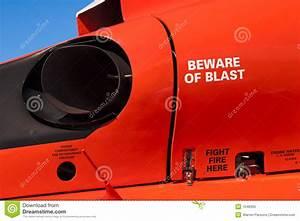 Helicopter Engine Exhaust Stock Image  Image Of Turbine