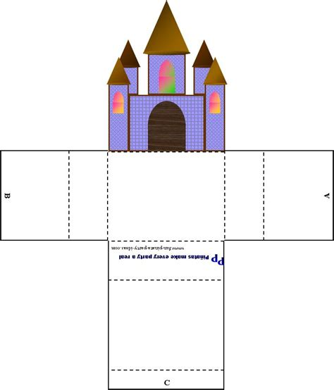 images   castle template printable linacacom