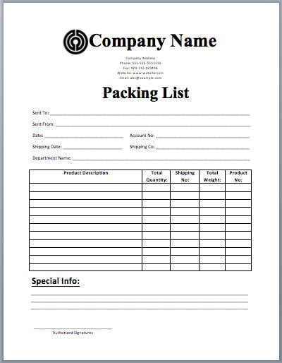 packing list sample form 17 best ideas about packing list template on pinterest