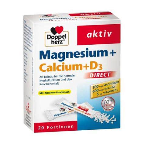 doppelherz magnesiumcalciumd direct pellets  st