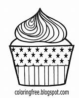 Coloring Cupcake Maple Syrup Tree Cream Whipped Drawing Lemon Pie Canada Teenagers Template Chocolate sketch template