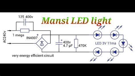 Led Light Driver Circuit Diagram Ashoka Tech Youtube