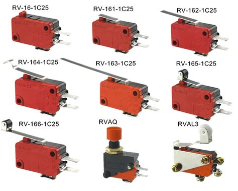Types Of High Quality Burgess Microswitch T85 5e4