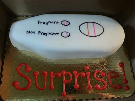surprise im pregnant cake  cakery couture wwwfacebook