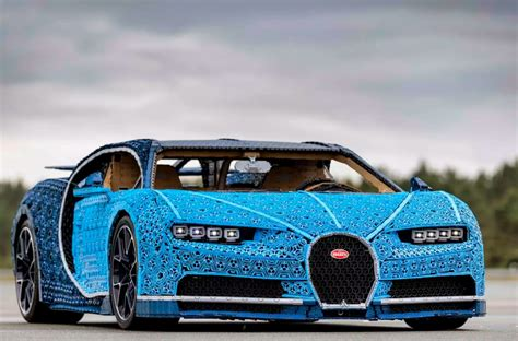 2 years ago, lego made the first ever electric bugatti luxury car! LEGO Unveils Full-Size, Driveable Bugatti Chiron - autoevolution