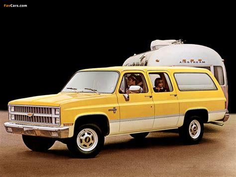 Chevrolet C20 Suburban Silverado 1982 wallpapers (1024x768)