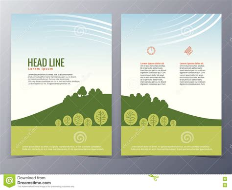 Business And Nature Brochure Design Template Vector Stock Standard Business Postcard Size Free Card Stock Image Ceo Sample Reader Machine For Stand Ebay Real Estate Agent Photos Best Rated Scanner App Analyst Credit Experience Resume