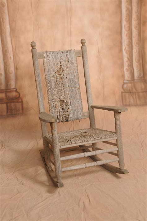 jfk rocking chair history chair doc of boone repairing caning antiques