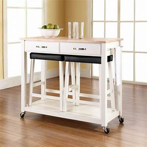 Kitchen Carts with Seating - Contemporary - Kitchen