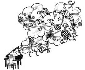 Cool Music Note Drawings