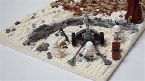 lego ww eastern front moc youtube