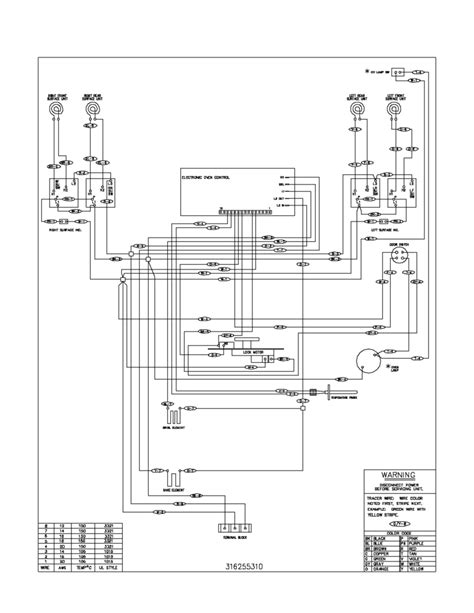 frigidaire dryer wiring diagram gallery