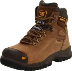 cat steel toe boots hiking journey adventure caterpillar s diagnostic