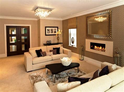 Brown Cream And White Living Room Conceptstructuresllccom