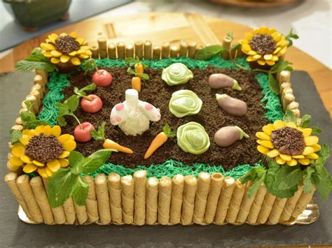 Garden Decoration For Cake by Pass The Garden Cake Recipe Food Network